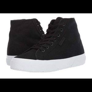Women's Superga Black Sneakers